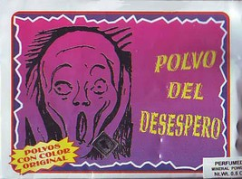Indio Authentic Desespero/Impatience Sachet Powder  1/2 oz. Brujeria Wit... - $7.75