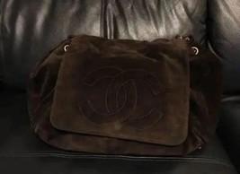Auth CHANEL Shoulder Bag Brown Matelasse Adjustable Strap Classic Flap B2978 - $925.65