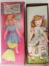 Vintage Antique Saalfield Paper Doll Corinne a Darling Doll ~ WAVY HAIR ~ - $11.84