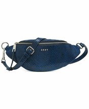 DKNY Sally Leather Belt Bag/Royal Blue - $99.00