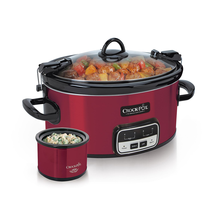 Crock Pot Free Slow Cooker Cookbook Plus Little Dipper Warmer Fondue Sma... - €48,52 EUR