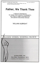 Father, We Thank Thee (Piano Reduction/Vocal Score) - $1.50