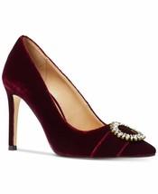 MICHAEL Michael Kors Viola Pumps Shoes Oxblood 7 - $118.79