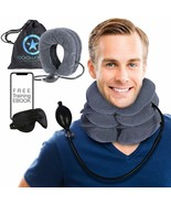 Rockawinners Cervical Neck Traction Device - Instant Relief Cervical Col... - $23.60