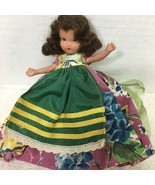 Nancy Ann Storybook Doll Jennie Set the Table 161 Orig Box Floral Dress  - $34.65