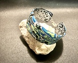 Abstract Style handcrafted Polymer Clay Cuff Bracelet