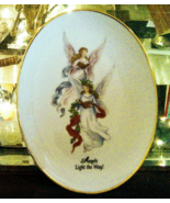 Angels Light the Way  Plate Vintage - $12.00