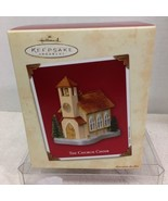 2003 Church Choir Doors Open Hallmark Christmas Tree Ornament MIB Price ... - $12.38