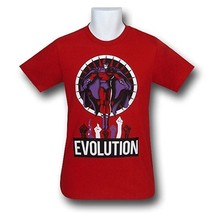 Retro Style X-Men Magneto Evolution 30 Single T-Shirt - $15.99+