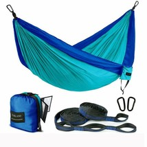 Farland Outdoor Camping Hammock - Portable Anti-Fade Nylon Single  Doubl... - $31.86