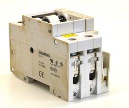 Siemens 5SX22 C3 2 Pole Circuit Breaker 3 Amp 480V W/ 5SX9100 Auxiliray Block - $13.99