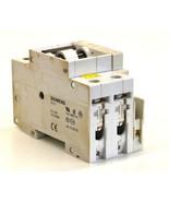 Siemens 5SX22 C3 2 Pole Circuit Breaker 3 Amp 480V W/ 5SX9100 Auxiliray ... - $13.99