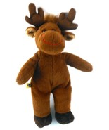 "Hal Moose Small Fry Christmas Plush from Build A Bear Workshop BABW 11"" ... - $12.86"