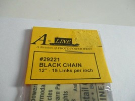 """A-Line #29221 Black Chain 12"""" - 15 Links per inch image 2"""
