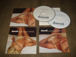 Dannii Minogue - Everything I Wanted 2 -CD Set with Remixes and BONUS PO... - $39.99