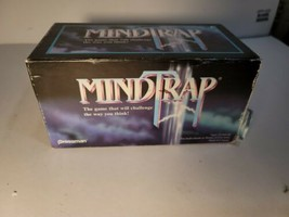 Vintage Mind Trap Game by Pressman - 1996 Version - Complete - $14.40