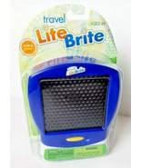 Mini Lite Brite Hasbro Flat Screen Peg Storage Creative Cordless Kids Tr... - $10.91