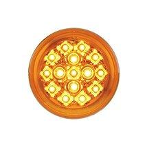 """15 LED 2 3/8"""" Harley Turn Signal Light - Amber LED/Amber Lens - $31.04"""