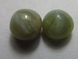 4.60 Cts - Natural Chrysoberyl Cats Eye Gemstone Round Cabochon S273 - $50.30