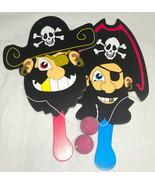 Set of Two Pirate Paddle Balls - $3.95