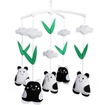 Baby Crib Musical Mobile Lovely Toy For Babies Animal Baby Mobile[Panda] - £38.87 GBP