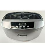 Central Machinery Ultrasonic Jewelry Cleaner 2.5lt w/ Basket, Good Worki... - $48.33