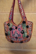 Handmade Vintage Tribal Patchwork Indian Ethnic Hippie Gypsy Bohemian Bag  - $94.05