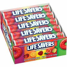 Life Savers Five Flavors Hard Candy, 1.14 Ounce (Pack of 20) - $15.83