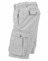 Levi's Men's Premium Cotton Ace Twill Cargo Shorts Relaxed Fit Gray 124630020 image 2