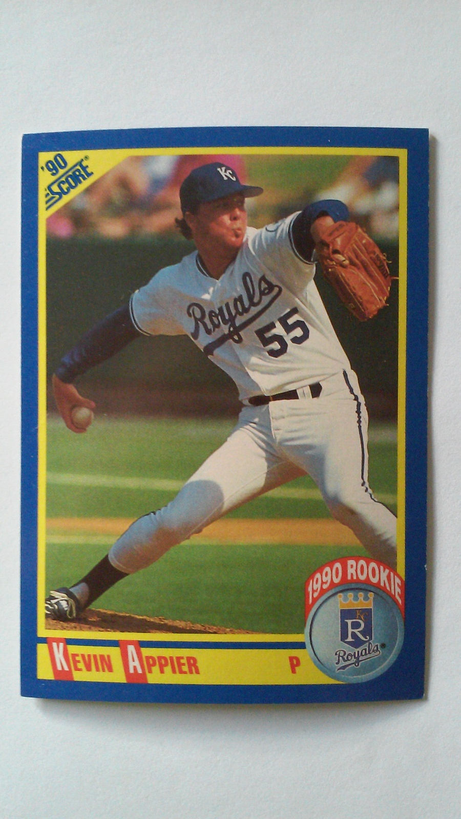 Kevin Appier 1990 Score Rookie Card #625 Kansas City Royals Free Shipping