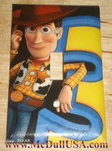Toy Story 3 Woody Light Switch Power Outlet Wall Cover Plate Home decor image 1
