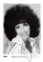 WANDA JACKSON AUTOGRAPHED SIGNED 3x5 PHOTO First Lady Queen of Rockabill... - $34.99