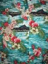 Royal Creations Floral Button Up Hawaiian Shirt Sz XL Beachwear Aloha Va... - $19.99