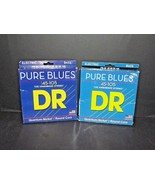 2 Packs Pure Blues DR 45-105 Electric Bass Strings PB-45 New Worn Packag... - $49.49