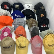 Lot of 20 Ball Caps Baseball Hats Wholesale Trucker Sports Travel - $29.69