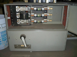 Continental FQV324 200A 3P 240V Fusible Panelboard Switch Used - $1,000.00