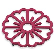 Old Dutch International Bloom Trivet in Pink/Berry - $9.99