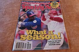 Sporting News Mark McGuire & Sammy Sosa Home Run Race; NHL; NFL; MLB 199... - $11.96