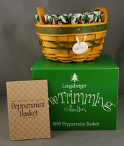 Longaberger Peppermint Green Basket Holly Liner & Protector in Box - $29.99