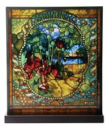 YTC Tiffany Summer Stained Glass - $87.11