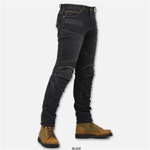 Men Fashion Professional Motorcycle Pants Casual Trousers Jeans Riding Pants image 3
