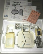 Sony BabyCall NTM-1 Nursery Baby Monitor 1 receiver & 1 transmitter Complete Set - $10.76