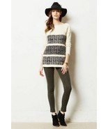 NWT $298 ANTHROPOLOGIE AILIN IVORY PULLOVER SWEATER by AMATEURS M - $138.22