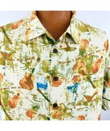 Margaritaville  Hawaiian Aloha Large Shirt Jimmy Buffett Pineapple Ukule... - $44.54