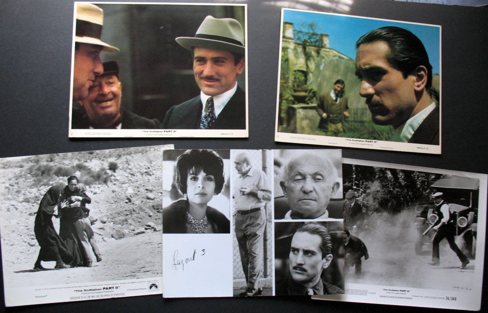 FRANCIS FORD COPPOLA (THE GODFATHER II) ORIGINAL 1974 PHOTO LOT # 3   (CLASSIC)