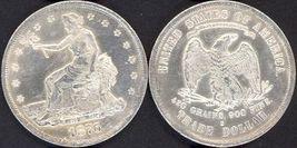 **REPLICA**1876-S U. S. Trade Dollar - $16.95