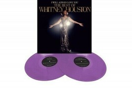 Whitney Houston I Will Always Love You Exclusive Purple Colored Vinyl 2LP - £39.99 GBP