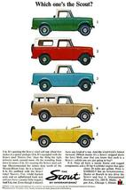 1964 International Scout - Promotional Advertising Poster - $9.99+