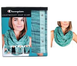 Champion Lightweight Snap Scarf Shrug Drape Choose Color Wear Different Ways NIP image 5