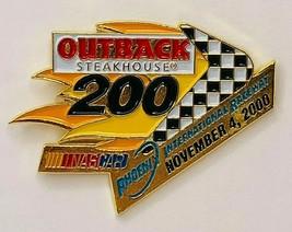 Outback Steakhouse NASCAR 200 Phoenix Raceway November 2000 Hat Pin - $13.99